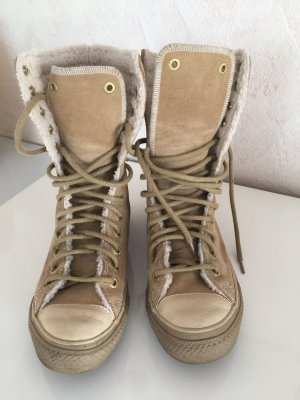Converse Lace-up Boots multicolored leather