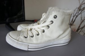 Converse Lace-Up Sneaker natural white leather