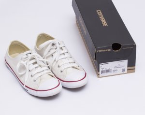 Converse Schuhe All Star Dainty Ox 537204C Sneakers Chucks Weiß Gr. 38