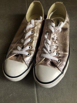 Converse Schuhe in metallic...angesagt in rose