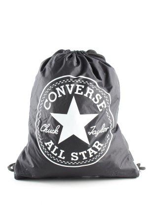 Converse Schulrucksack schwarz Schriftzug gedruckt Casual-Look