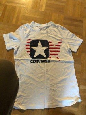 Converse Camicia fantasia bianco sporco-bianco Cotone