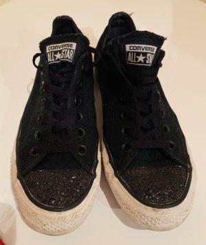 Converse Sneaker Gr.38 -schwarz mit Glitzer