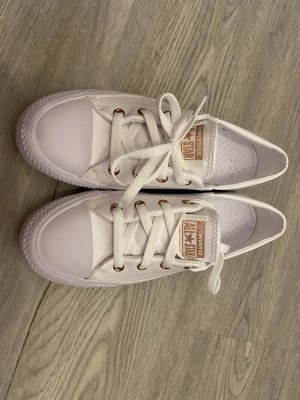 Converse Sneaker in weiß/Roségold