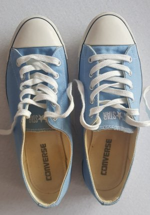 Converse Lace-Up Sneaker white-light blue