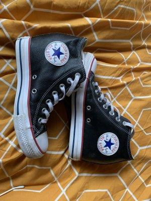 Converse Heel Sneakers black-white