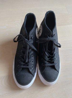 Converse Sneakers met hak zwart-wit