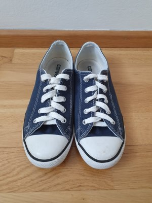 Converse Sneaker stringata bianco-blu scuro