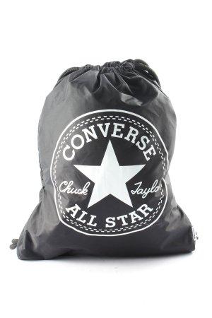 Converse Sporttas zwart-wit prints met een thema simpele stijl
