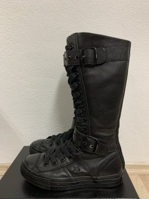 Converse Lace-up Boots black leather