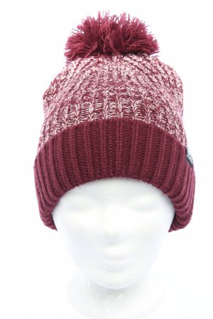 Converse Knitted Hat red-white themed print casual look