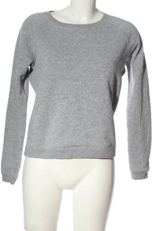 Converse Sweatshirt hellgrau meliert Casual-Look