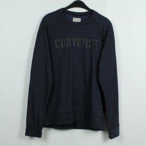 CONVERSE Sweatshirt Gr. M dunkelblau oversize (19/11/057)