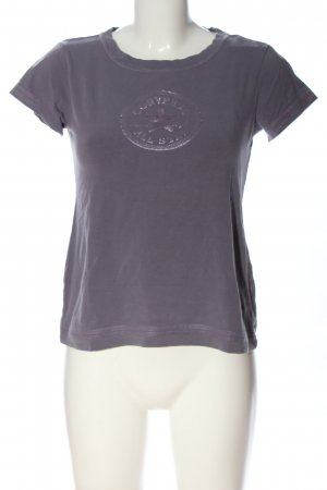 Converse T-shirt grigio chiaro Stampa a tema stile casual