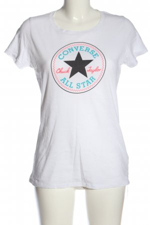 Converse T-Shirt Motivdruck Casual-Look