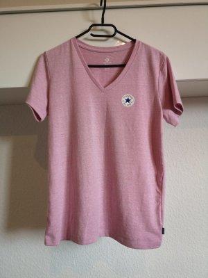 Converse T-shirt rose clair