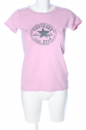Converse T-Shirt pink Motivdruck Casual-Look