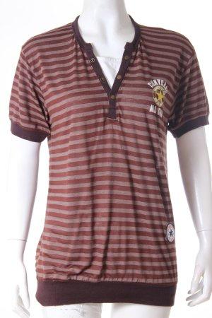 Converse T-shirt bronzo-marrone-rosso Cotone