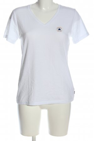 Converse T-Shirt weiß Casual-Look