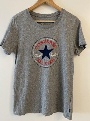 Converse Camiseta gris claro