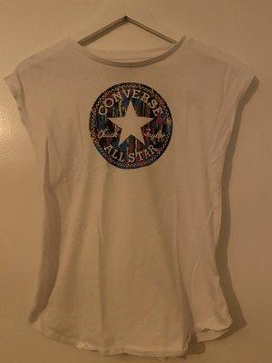 Converse T-shirt bianco