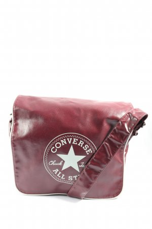 Converse Umhängetasche pink-weiß Motivdruck Casual-Look