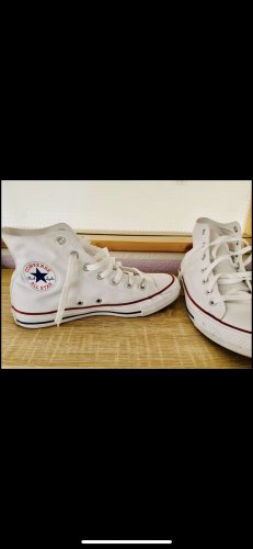 Converse Heel Sneakers white