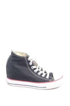 Converse Sneaker con zeppa multicolore stile casual