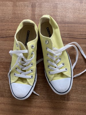 Converse Lace Shoes yellow