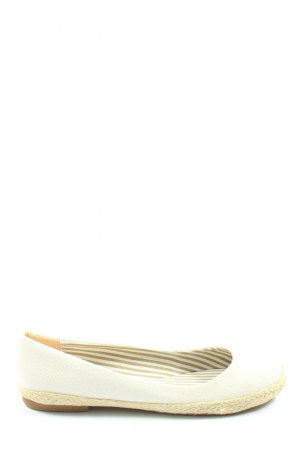 Conway Classic Ballet Flats natural white-cream casual look
