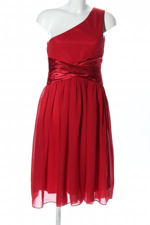 Coobee One-Shoulder-Kleid rot Elegant