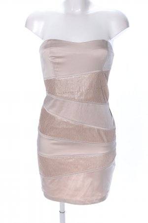 CoolCat Minikleid creme extravaganter Stil
