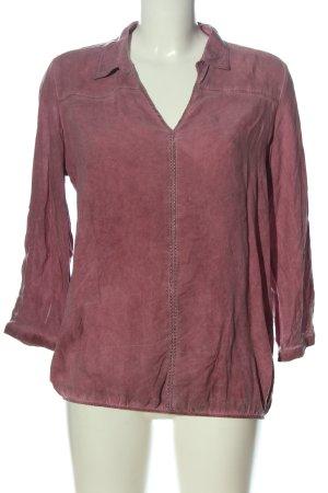 Cool Code Langarm-Bluse pink Casual-Look
