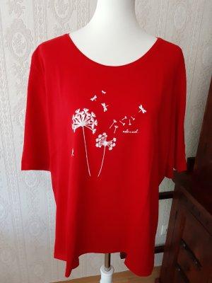 Cool Code T-Shirt rot Motivdruck Casual-Look