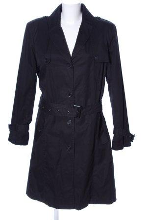 Cool Code Between-Seasons-Coat blue casual look