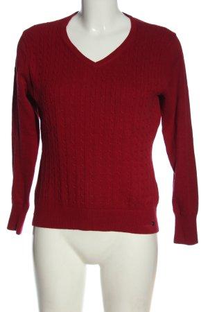 Cool Code V-Ausschnitt-Pullover