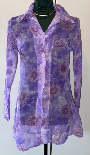 Another Label Transparante blouse veelkleurig Polyester