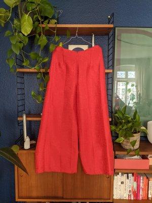 unknown Pantalone palazzo arancio neon-rosso chiaro