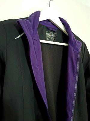 cool running Sports Jacket black-dark violet