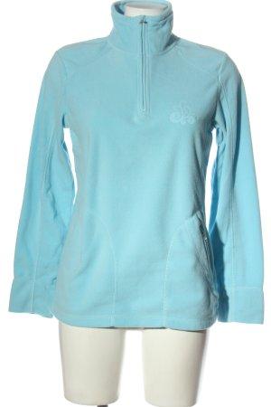 cool running Fleece Jackets blue casual look