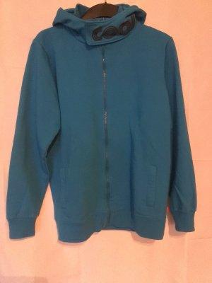 COOL# Sweatshirtjacke, Sweatshirt Jacke mit Kapuze CFL in blau