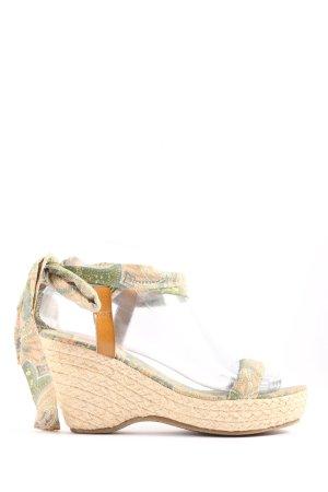 Cool Way Sandalo con plateau motivo astratto stile casual