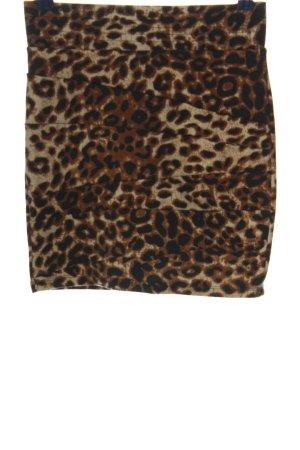 CoolCat Miniskirt bronze-colored-cream allover print casual look