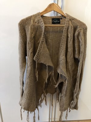 CoolCat Cardigan gold-colored