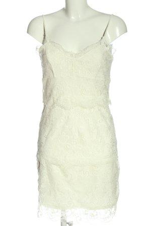CoolCat Lace Dress natural white elegant