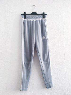 Coole Adidas Jogging Hose high wast S blau grau selten