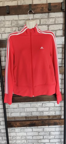 Adidas Giacca sport rosa Poliestere