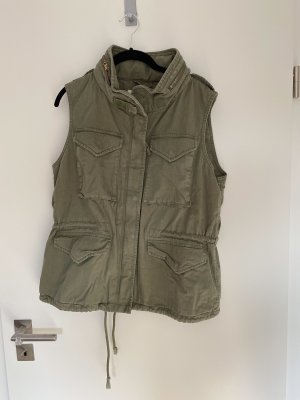 Denim & Supply Ralph Lauren Biker vest khaki