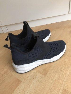 ASH Basket slip-on noir-blanc