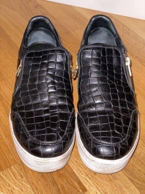 ASH Instapsneakers zwart-wit Leer